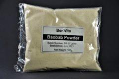 Bruine Berivita Baobab Poeder 100% Zuiver - 100gr