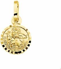 Gele Huiscollectie 4001574 Gouden bedel Christoffel