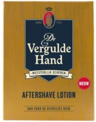 6x Vergulde Hand Aftershave Lotion 100 ml