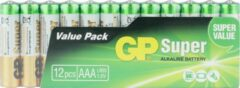 GP batterijen AAA batterij (potlood) GP Batteries Super Alkaline 1.5 V 12 stuk(s)