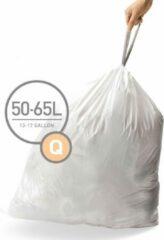 Afvalzakken code q, 50 - 65 liter, 20 stuks - simplehuman