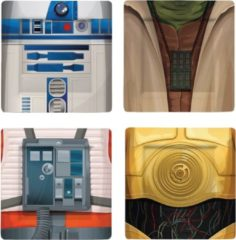 Underground Toys Star Wars: I Am Jedi 2 - Placemats - Set van 4