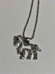 Zilveren Fashionvibe.nl Unicorn