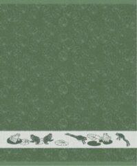 Ddddd Keukendoek Froggy 50x55cm - Laurel - Set Van 6