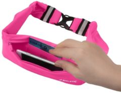 Roze Fitletic 360 Sport Heupriem met 3 vakken - maat Medium - Pink