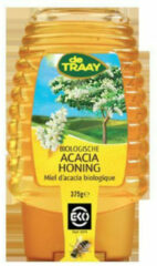 Traay Acaciahoning knijpfles bio 375 Gram