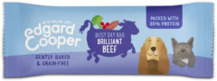 Edgard-Cooper Edgard&Cooper Beef Busy Day Bar 25 g - Hondensnacks - Rund&Aardappel&Cranberry
