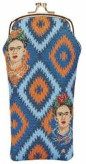 Blauwe Signare Brillenhouder - Brillenkoker - Frida Kahlo Icon