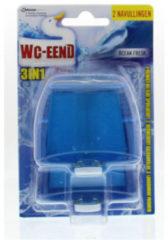WC-Eend Wc Eend Vloeibaar Toiletblok Navulling Duo Ocean Fresh