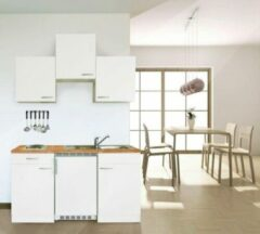 Respekta ® keukens Kleine keuken Meister 150cm wit - wit