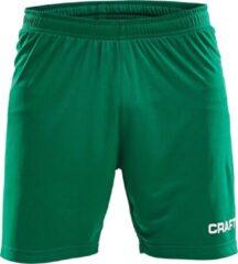Craft Squad Short Solid Heren Sportbroek - Maat XL - Mannen - groen/wit