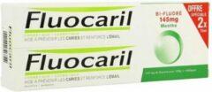 Fluocaril tandpasta bi-fluore 145 munt 2x75ml