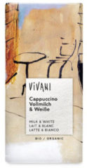 Vivani Chocolade cappuccino (1 Reep van 100 gr)