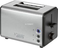 Toaster TA 1371 CB Estate Bomann silber