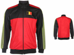 Rode Merkloos / Sans marque Belgie Trainingsjack Thuis Blanco -140