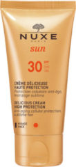 Nuxe Sun Delicious Cream For Face High Protection Gezichtscrème SPF 30 - 50 ml - Zonnebrand