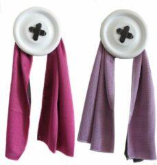 Bobbels & Putten Sport handdoek set - 2 x cool towel - roze - ice towel- koel handdoek - cold pack - verkoelende handdoek - sterk absorberend - snel drogend - yoga - fitness - hard lopen