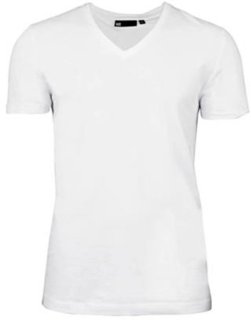 Afbeelding van Witte WE Fashion Fundamental slim fit T-shirt