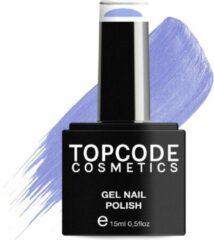 Blauwe TOPCODE Cosmetics Gellak / Gel nagellak - Maximum Blue - #MCPU21 - 15 ml