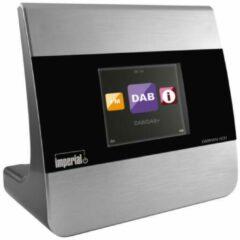 Imperial DABMAN i400 Internetradio-adapter DAB+, FM Bluetooth, DLNA, WiFi, Internetradio Geschikt voor DLNA, Multiroom ondersteuning Zilver
