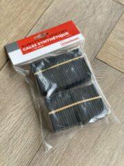 Zwarte MacLean Kunststof spietjes - Wiggetjes voor laminaat en parket vloeren - Afstandhouders - pak per 50 st.