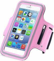Qatrixx Sports armband case Licht Roze Light Pink voor Apple iPhone 7 Plus