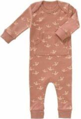 Fresk newborn baby pyjama Birds oudroze