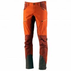 Lundhags - Makke Pant - Trekkingbroeken maat 46 - Regular, rood/zwart/oranje