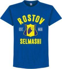 Retake Rostov Established T-Shirt - Blauw - XXL
