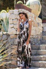 Beige Chic by Lirette Maxi jurk Samoa Bruin Maxi jurk Dames Jurk Maat L