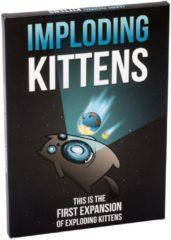 Asmodee Exploding Kittens Imploding Kittens Uitbreiding - Engelstalig Kaartspel