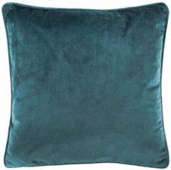 Tiseco Home Studio Sierkussen Velvet Groot - Blauw