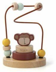 Bruine Trixie Spelbaan met kralen | Mr Monkey