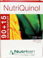 Nutrisan NutriQuinol 100mg Softgel Capsules 105st