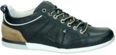 Gaastra Bayline leren sneakers donkerblauw