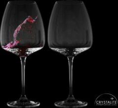 Transparante Gusta® Gusta Wijnglazen Set 2dlg 77cl