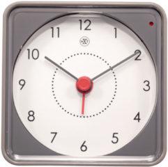 NeXtime Alarmklok nXt Nathan 7.3 x 7.3 x 3.3 cm grijs