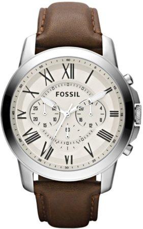 Afbeelding van Bruine Fossil FS4735 Analoog Heren Quartz horloge