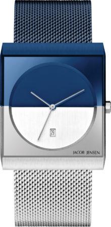 Afbeelding van Zilveren Jacob Jensen watches herenhorloge Classic 517