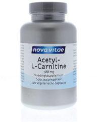 Nova Vitae Acetyl-L-Carnitine 588mg Capsules 120st