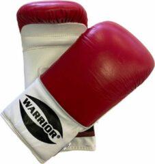 Rode Zakhandschoenen Boksen | Vechtsporthandschoenen | Leer | Warrior | Mt XL