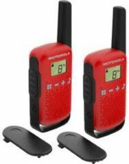 Motorola Solutions TALKABOUT T42 rot PMR-portofoon Set van 2 stuks