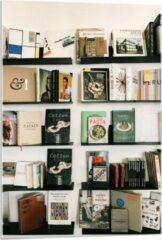 Beige KuijsFotoprint Plexiglas - Open Boekenkast - 60x90cm Foto op Plexiglas (Wanddecoratie op Plexiglas)