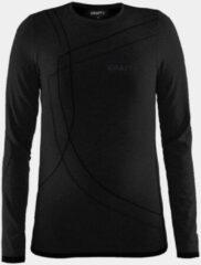 Zwarte Craft Active Comfort Rn Ls J 1903777 - Sportshirt - Black Solid - Kids - Maat 158