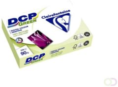 Laserpapier Clairefontaine DCP groen A4 90gr wit 500vel