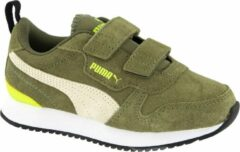 Groene PUMA - Puma R78 SD V PS - Burnt Olive-Whisper White-Yellow Alert - Unisex - Maat 33