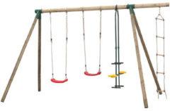 SwingKing Swing King schommel Danielle dubbel - touwladder/duoschommel