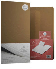Taupe Home Care Splittopper Hoeslaken - Eenpersoons - 160 x 200 cm - Bruin