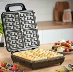Zwarte Royal Swiss Waffle maker ( 4 waffles )