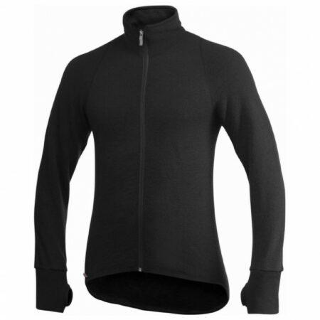 Afbeelding van Woolpower - Full Zip Jacket 400 - Wollen jack maat 3XL, zwart